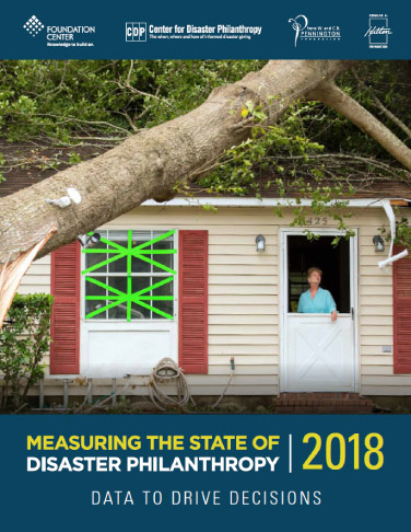 Measuring the State of Disaster Philanthropy 2018: Data to Drive Decisions